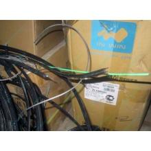 Оптический кабель Б/У для внешней прокладки (с металлическим тросом) в Дубне, оптокабель БУ (Дубна)