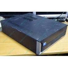 Лежачий четырехядерный компьютер Intel Core 2 Quad Q8400 (4x2.66GHz) /2Gb DDR3 /250Gb /ATX 250W Slim Desktop (Дубна)